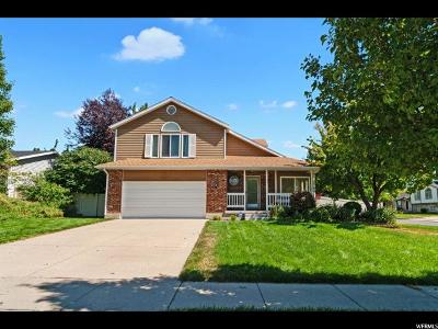 Kaysville Single Family Home For Sale: 1539 S 650 E