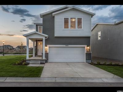 Herriman Single Family Home Under Contract: 5656 W Mule Ears Ln S #201