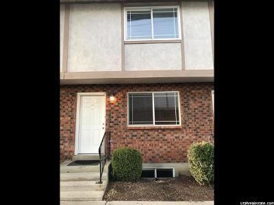 Provo Townhouse For Sale: 556 W 800 N #12