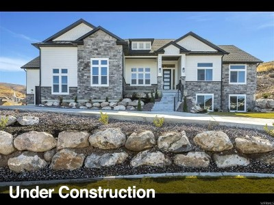 Herriman Single Family Home For Sale: 6971 W Majestic View Ln #707