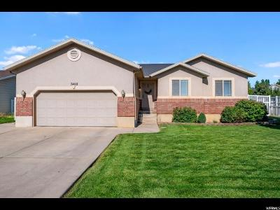 South Weber Single Family Home For Sale: 7458 Shay Ln