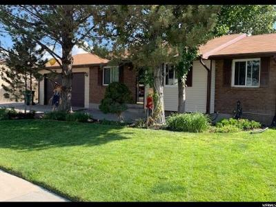 Riverton Single Family Home For Sale: 12405 S 1510 W