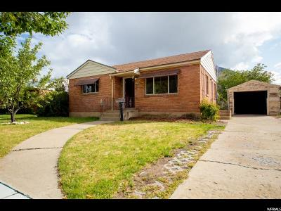 Logan Single Family Home For Sale: 878 N Hillcrest Ave