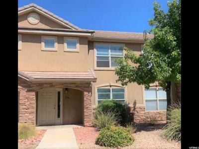St. George Townhouse For Sale: 3155 S Hidden Valley Dr #137