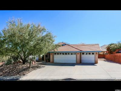 St. George Single Family Home For Sale: 2054 E 140 S