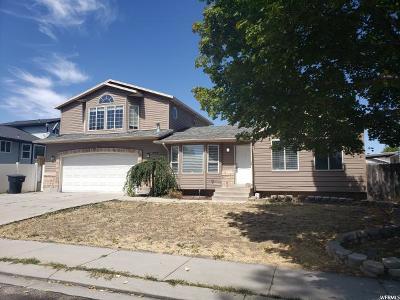 West Jordan Single Family Home For Sale: 5178 W Wake Robin Dr S