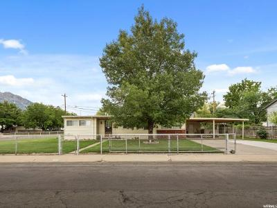 Orem Single Family Home For Sale: 717 W Emery Ave N