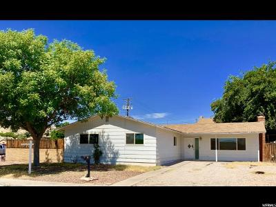 St. George Single Family Home For Sale: 11 E 750 S