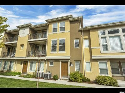 Midvale Townhouse For Sale: 7372 S Shelby View Dr