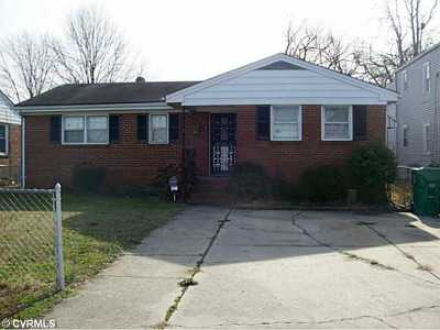 Colonial Heights VA Single Family Home Sold: $80,000