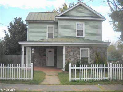 Nottoway County Single Family Home For Sale: 309 North High