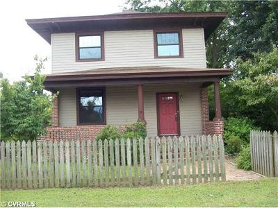 Colonial Heights VA Single Family Home Sold: $150,000