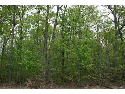 Amelia County Residential Lots & Land For Sale: 00 Patten Lane