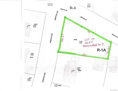 Hopewell VA Residential Lots & Land Sold: $18,500