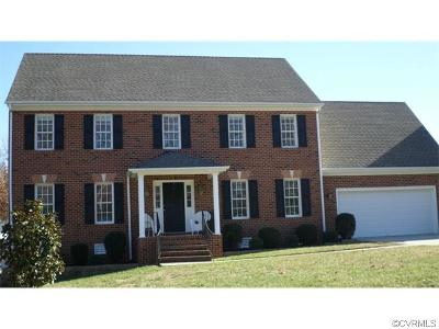 Colonial Heights VA Single Family Home Sold: $295,000