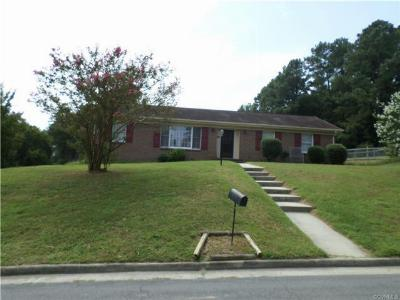 Colonial Heights VA Single Family Home Sold: $139,000