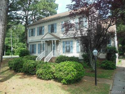 Henrico VA Single Family Home Sold: $235,000