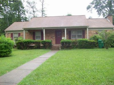Petersburg VA Single Family Home Sold: $85,000