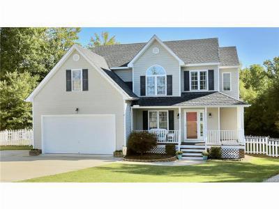 Walnut Grove Single Family Home Sold: 11900 Hazelnut Branch Terrace