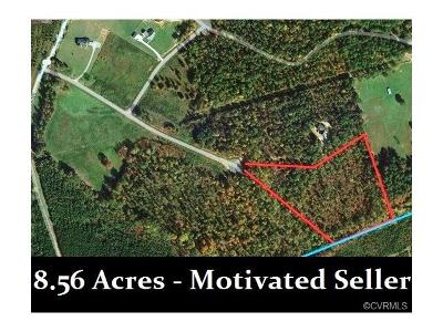 Amelia Residential Lots & Land For Sale: 8.56 Acres Smacks Drive
