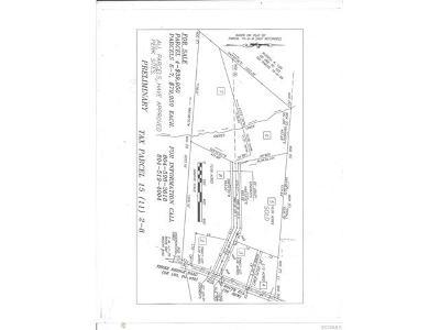 Powhatan Residential Lots & Land For Sale: Three Bridge Road