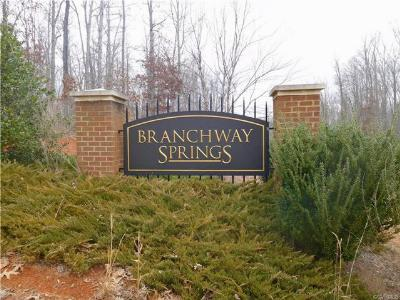 Land For Sale: 2329 Branchway Creek Drive