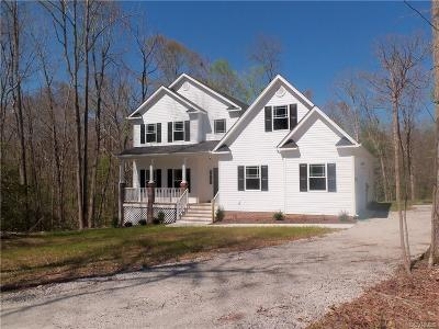 Swift Creek Estates Single Family Home Sold: 17301 Simmons Branch Court