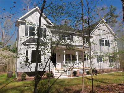Swift Creek Estates Single Family Home Sold: 17313 Creekbed Road