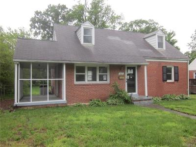 Richmond VA Single Family Home Sold: $143,000