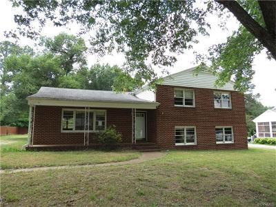 Single Family Home Sold: 7261 Stonewall Drive