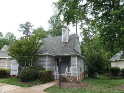 Midlothian VA Condo/Townhouse Sold: $155,000