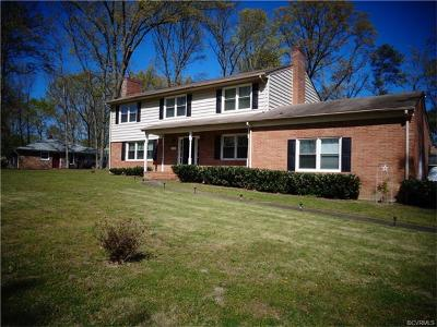Chesterfield VA Single Family Home Sold: $240,500