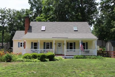 North Chesterfield VA Single Family Home Sold: $196,500