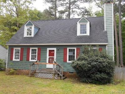 North Chesterfield VA Single Family Home Sold: $108,600