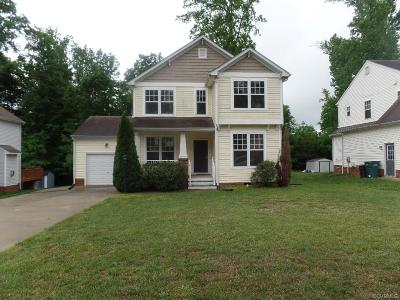Richmond VA Single Family Home Sold: $168,099
