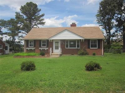 Henrico VA Single Family Home Sold: $137,200