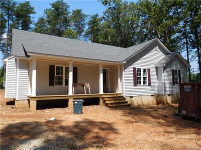 Powhatan VA Single Family Home Sold: $229,950