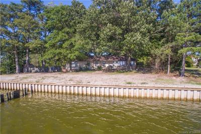 Deltaville Single Family Home For Sale: 791 Stove Point Road
