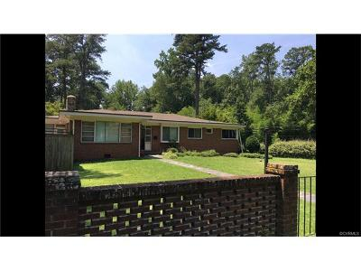 Petersburg Single Family Home For Sale: 1000 Sunset Avenue