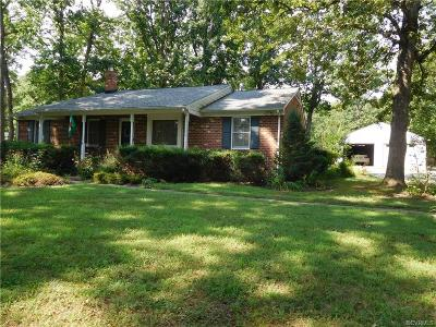 Powhatan VA Single Family Home Sold: $235,000