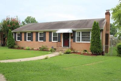 Richmond VA Single Family Home Sold: $114,000