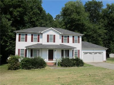 Single Family Home Sold: 6713 Fox Downs Drive