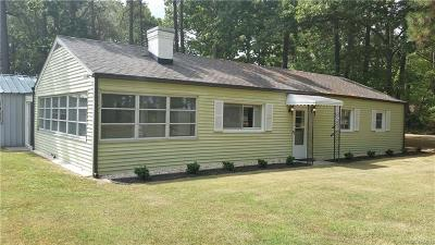 Single Family Home Sold: 2212 Remlik Drive