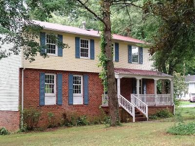 North Chesterfield VA Single Family Home Sold: $125,000