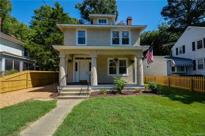 Petersburg Single Family Home For Sale: 1627 Monticello Street