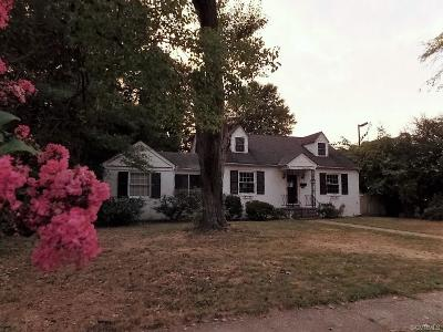 Richmond VA Single Family Home Sold: $127,500