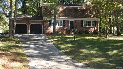 Chester VA Single Family Home Sold: $157,500