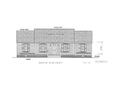 King William County Single Family Home For Sale: 00 Stoneridge Lot 1 Lane