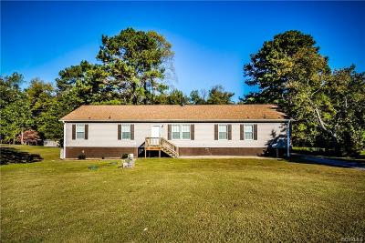 Single Family Home Sold: 12816 Cox Road