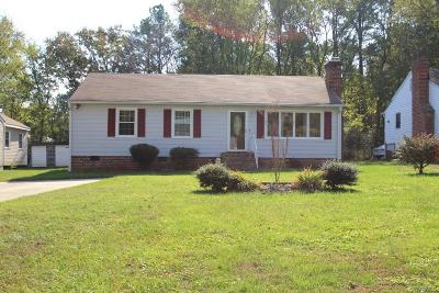 North Chesterfield VA Single Family Home Sold: $127,950